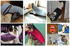 10 cappottini per cani uncinetto ferri e riciclo - Tutorial in italiano  Oggi vi segnalo 10 tutorial e video tutorial che ci mostrano come...