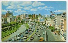 Autopista del Este, Bello Monte Caracas años 60.