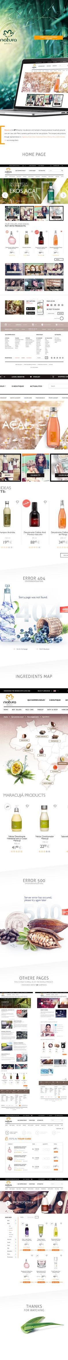 Natura Brasil website & shop.Natura is the N°1 Brazilian manufacturer and marketer of beauty products, household, personal care, skin care, solar filters, cosmetics, perfume and hair care products. The company sells products through representatives in…