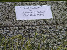 Art Mini Quilt Willow Tree Wall Hanging by thebutterflyquilter, $95.00