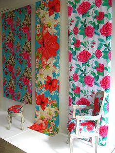 bold floral prints