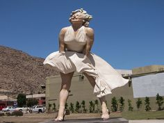 Marilyn Monroe Statue Palm Springs. See more things to do in Palm Springs