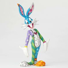 Romero Britto Looney Tunes Statue Bugs Bunny Figurine New With Box