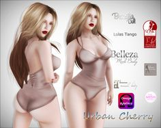 ***Urban Cherry*** Rebecca #1 Bodysuit with Appliers