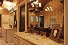 mediterranean bathroom | ... - mediterranean - bathroom - other metro - by Stadler Custom Homes