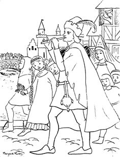 pied piper coloring pages pied piper colouring page
