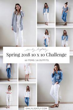 Spring 2018 10 x 10 challenge recap - Emily Lightly // minimalist style, capsule wardrobe, slow fashion