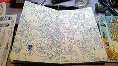Mattias Inks: Blue print