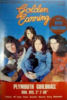 Golden Earring show poster December 02, 1973 Plymouth - Guildhall