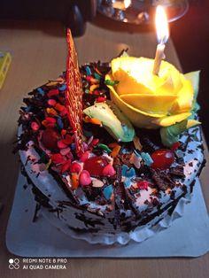Happy Birthday Chocolate Cake, Happy Birthday Cake Images, Chocolate Cupcakes Decoration, Thanks For Birthday Wishes, Maa Quotes, Cake Story, Dairy Milk Chocolate, Yummy Ice Cream, Golden Temple