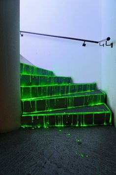 toxic stairs.  halloween...ooo creepy!