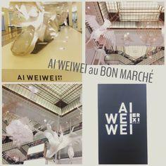 Ai Weiwei, célèbre artiste chinois, est chez @lebonmarche du 16 janvier au 20 février pour une exposition « Er Xi, Aire de jeux ». Exposition de créations originales testée et approuvée par l'équipe d' #Evereden Search !