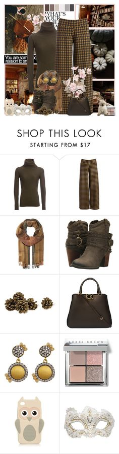 """""""Autumn"""" by oliverose-247 ❤ liked on Polyvore featuring Warby Parker, LolÃ«, Polo Ralph Lauren, Not Rated, K&K Interiors, Calvin Klein, Freida Rothman, Seed Design, Bobbi Brown Cosmetics and Swarovski"""