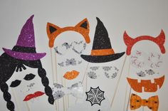 Halloween Photo Booth Party Props Mustache by weddingphotobooth Halloween Photo Booth Props, Photo Booth Party Props, Halloween Photos, Halloween Party, Mustache, Monsters, Witch, Bows, Christmas Ornaments