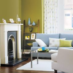 Photo: Simon Whitmore/IPC Images | thisoldhouse.com | from Editors' Picks: Our Favorite Colorful Living Rooms