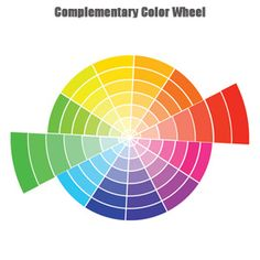 The Complementary Colour Relationship Involves Hues That Are Directly Opposite On Wheel Eg