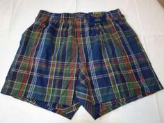 Polo Ralph Lauren underwear men's classic fit boxer shorts logo M L104HR plaid #PoloRalphLauren #ClassicFitBoxershorts
