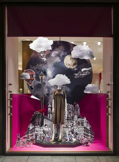 "Hermès,Dusseldorf,Germany, ""The World at your Feet"", pinned by Ton van der Veer"