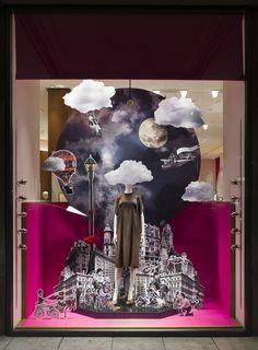 """Hermès,Dusseldorf,Germany, """"The World at your Feet"""", pinned by Ton van der Veer"""