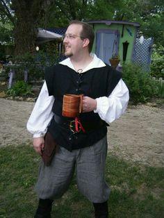 Scarborough fair TX men's renaissance costume
