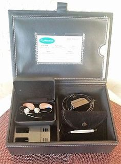Miracle Ear Hearing Aid Lithium ION RIC ME 1 Genius 2.0 Warranty  Service $8790