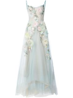 Shop Marchesa Notte embellished ball gown