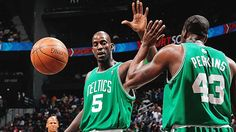 GOOD PLAYERS AREN'T AFRAID TO TOUCH TEAMMATES Kevin Garnett leads the league in physical contact.
