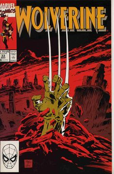 Marc Silvestri cover Wolverine #33