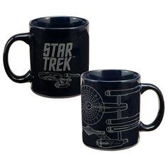 """Star Trek® """"Enterprise"""" 12 oz. Ceramic Mug"""