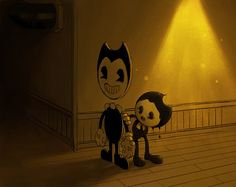 Bendy and the ink machine fanart by always-x3 on Tumblr