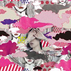 ▲ 吉夢/kichimu▼  #gara #art #fashion #design #pattern #textile #graphic #graphicdesign #drawing #photo #柄 #japan #illustration #handdrawing