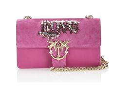 Luxusná talianska kožená kabelka Pinko- Love v ružovom prevedení je k dispozícií na Slovensku len v dvoch kusoch. Bude jedna z nich vaša? Shoulder Bag, Bags, Handbags, Dime Bags, Lv Bags, Purses, Shoulder Bags, Bag, Pocket