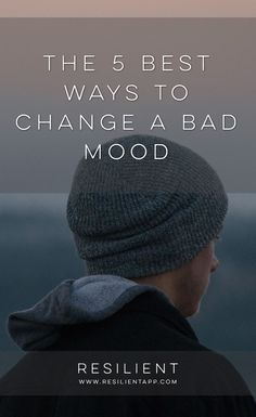 Situations will arise in our lives that will have negative effects on our moods and feelings. In reality, some of these things do warrant a response and change in our moods which may be necessary at the time. However, if such moods are persisted in over l
