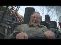 This absolutely made my day: 78-Year-Old Grandma Rides A Roller Coaster For The First Time