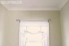 Ribbon Tie Up Curtains