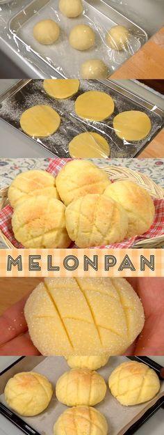 Melonpan Recipe (How to Make Melon Pan / Melon Bread)