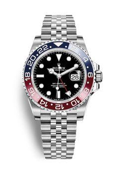 Rolex GMT-Master II: Oystersteel – 126710BLRO