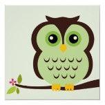 owl inspiration for mural