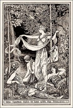 Henry Justice Ford 'The Gnome Falls in Love with the Princess'