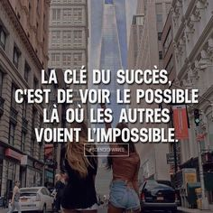 Tout est possible Positive Mind, Positive Attitude, Plus Belle Citation, Quote Citation, Short Poems, French Quotes, Some Words, Positive Affirmations, Motivation Inspiration