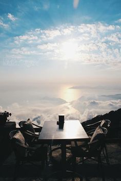 Fancy having drink in the sky watching sunset in #Oludeniz? :-) Welcome to #Babadag Zirve Cafe!
