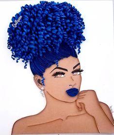Art Black Love, Black Girl Art, Black Girl Magic, Art Girl, Quilling Designs, Quilling Art, African American Art, African Art, Art Afro Au Naturel