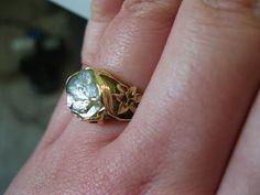 Unique wedding ring ideas.