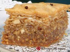 Greek Sweets, Greek Desserts, Greek Recipes, Desert Recipes, Sweets Recipes, Cooking Recipes, Greek Cake, Greek Pastries, Desserts With Biscuits