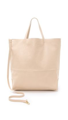 Alice D.   Buttery blush leather Tote   $500