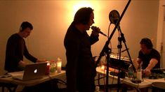 """""""Warm Leatherette"""" live 6.23.06. Trent Reznor, Peter Murphy, Atticus Ross, Jeordie White."""