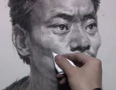 Portrait Drawing from Fine Art Academy on YouTube.