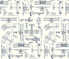 These vintage airplanes are cute, gray, adventurous and I think could encourage some spacial/engineering development. Fitted Crib Sheet/Changing Pad Cover/Blanket by PeasnCarrotsBaby Airplane Fabric, Airplane Nursery, Aviation Nursery, Aviation Theme, Airplane Party, Airplane Wallpaper, Vintage Airplanes, Vintage Cars, Textiles