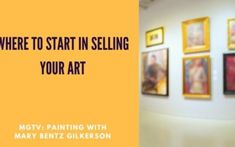 Art and Painting Tips - Mary Bentz Gilkerson Cool Things To Make, Things To Sell, Sell My Art, Happy Paintings, Artwork Online, I Found You, Outdoor Art, Meet The Artist, Online Work