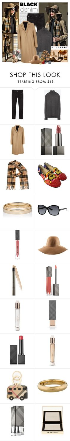 """""""Blogger Style: Amina Allam"""" by jleigh329 ❤ liked on Polyvore featuring Oris, Zara, Burberry, MSGM, Christian Louboutin, Minor Obsessions, Marc by Marc Jacobs, H&M, BloggerStyle and zara"""